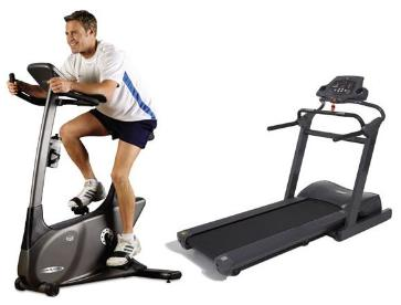 treadmill Stationary bike and