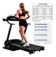 Charting Treadmill Exercise Workouts health promotion