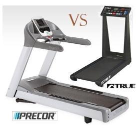 Compare Precor and True fitness treadmills