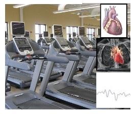 Exercise machine treadmill weight loss heart treadmill test
