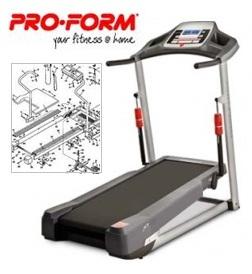 Incline mechanism for Proform treadmills equipment machine