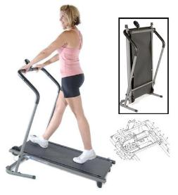 design specifications of a manual treadmill