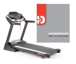 manual for diamondback treadmill