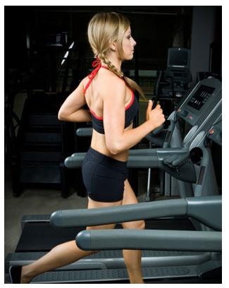 the treadmill exercise machine workout