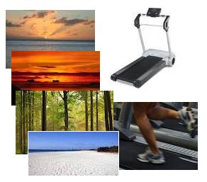video scenery for treadmill workouts