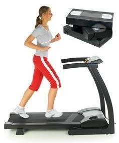 walking on treadmill treadmill video
