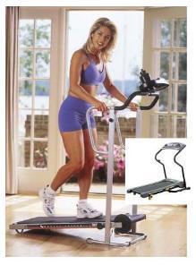 Manual treadmill walking care health