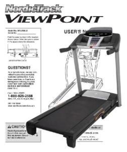 Nordic Track Manual Treadmill health sciences
